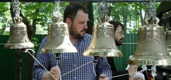 Мастер класс и звоны в честь престольного праздника в храме Бориса и Глеба села Ярополец 15 мая